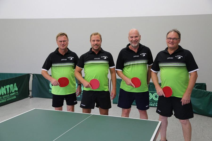 Tischtennis 1. Mannschaft 2018/2019