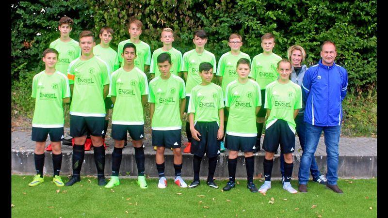 Auch unsere Jugend ist in die Saison gestartet – C-Junioren in Aktion