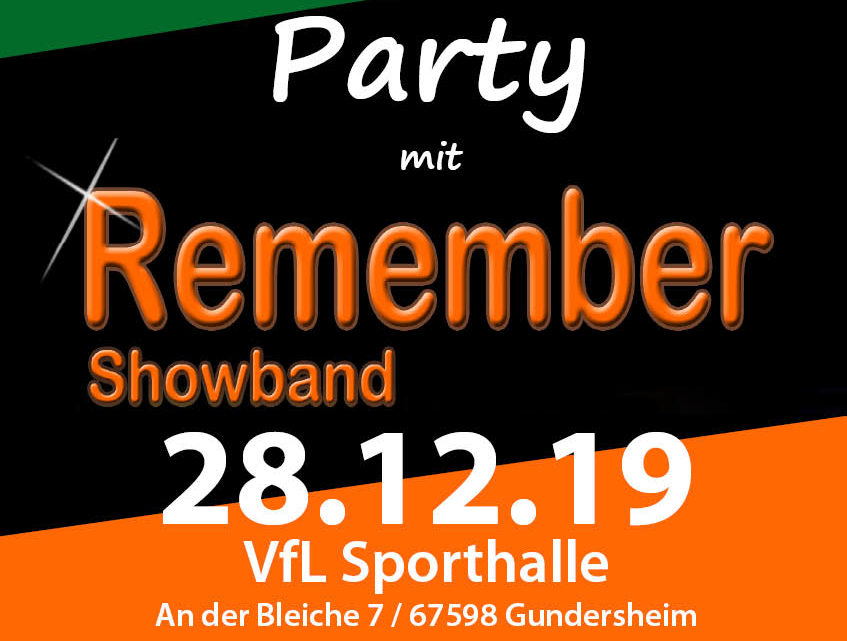 Save the Date! After X-MAS-Party am 28. Dezember